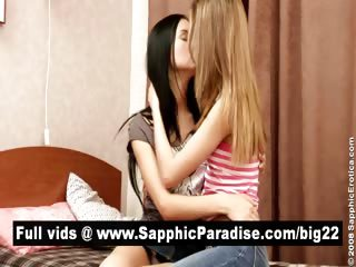 Naughty Ill-lit Added To Mart Lesbians Kissing Added To Fingering
